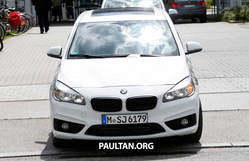 BMW testing hybrid 2-Series Active Tourer eDrive Image #247514