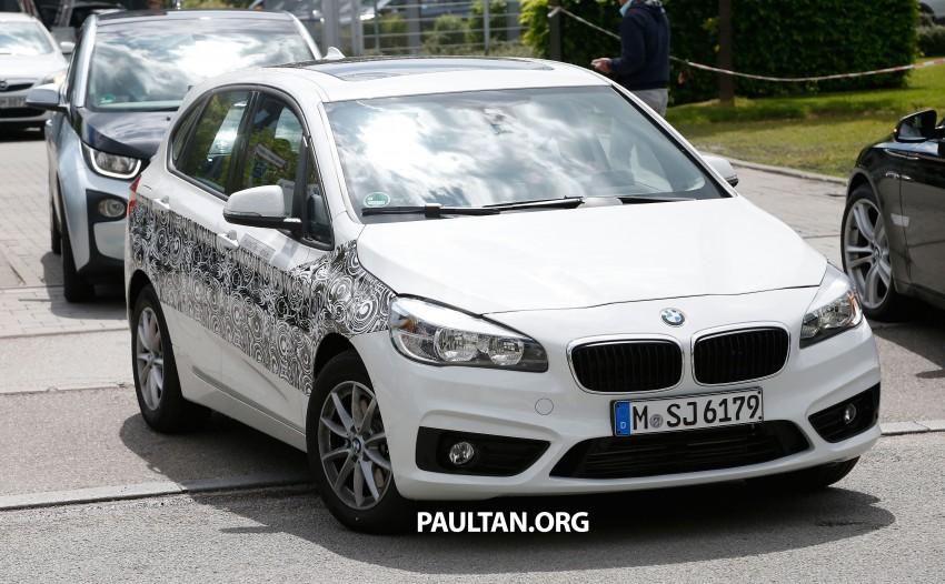 BMW testing hybrid 2-Series Active Tourer eDrive Image #247515