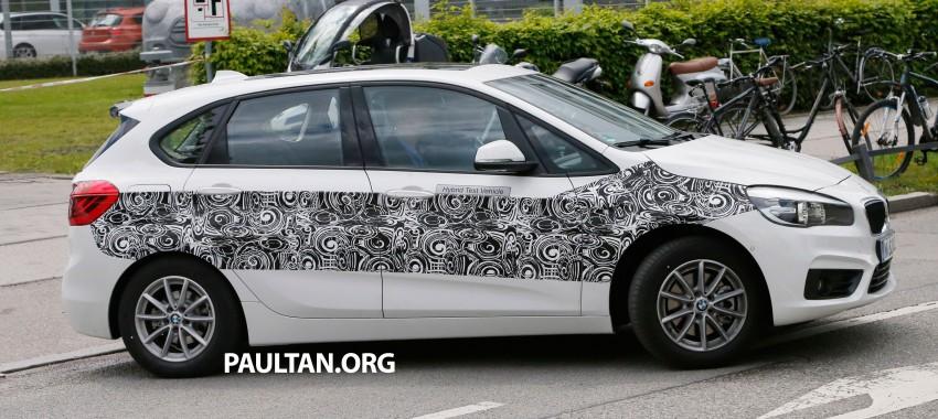 BMW testing hybrid 2-Series Active Tourer eDrive Image #247510
