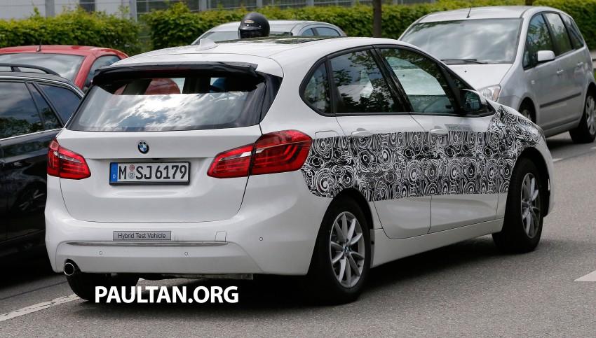 BMW testing hybrid 2-Series Active Tourer eDrive Image #247513