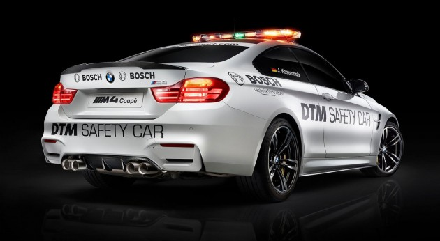 Bmw M4 Coupe Dtm Safety Car Joins The Race Cars