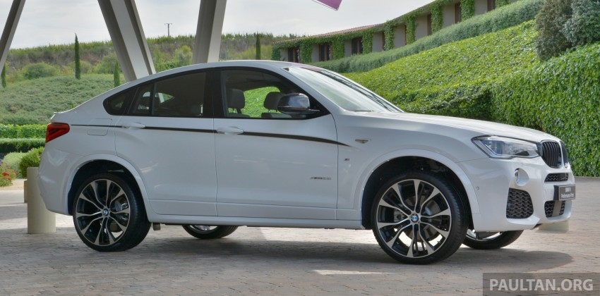DRIVEN: F26 BMW X4 – the X3 redrawn as a 'coupe' Image #252108