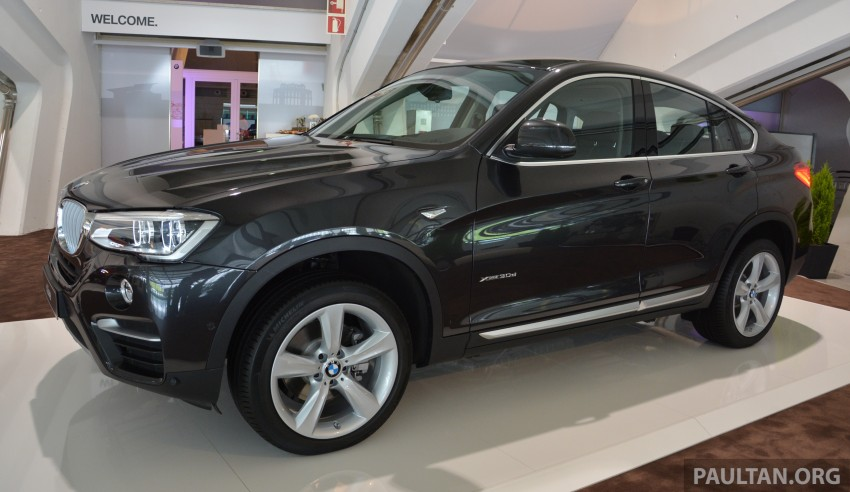 DRIVEN: F26 BMW X4 – the X3 redrawn as a 'coupe' Image #252106