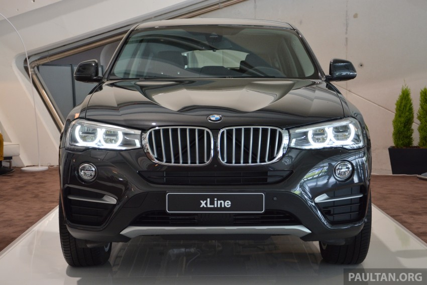 DRIVEN: F26 BMW X4 – the X3 redrawn as a 'coupe' Image #252105