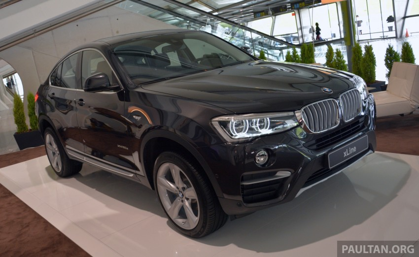 DRIVEN: F26 BMW X4 – the X3 redrawn as a 'coupe' Image #252103