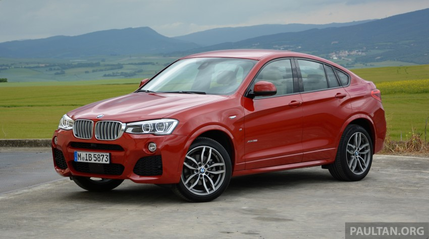 DRIVEN: F26 BMW X4 – the X3 redrawn as a 'coupe' Image #252157