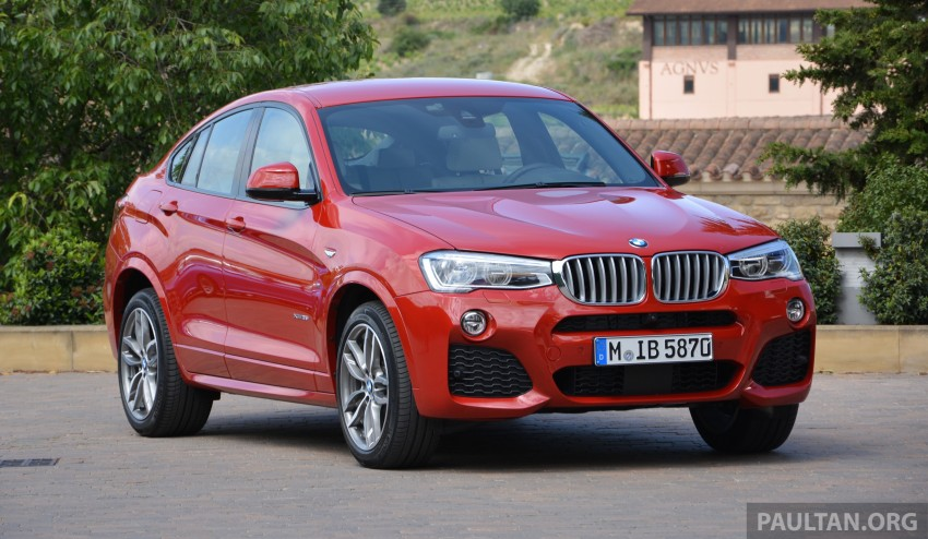 DRIVEN: F26 BMW X4 – the X3 redrawn as a 'coupe' Image #252156