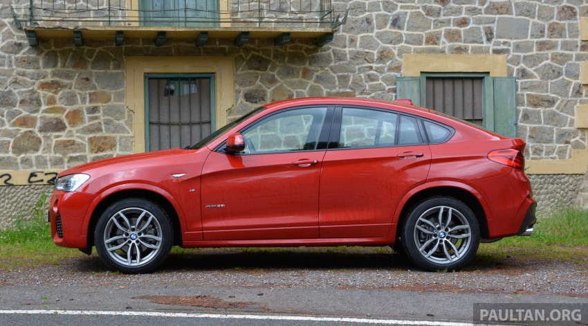 DRIVEN: F26 BMW X4 – the X3 redrawn as a 'coupe' Image #252154