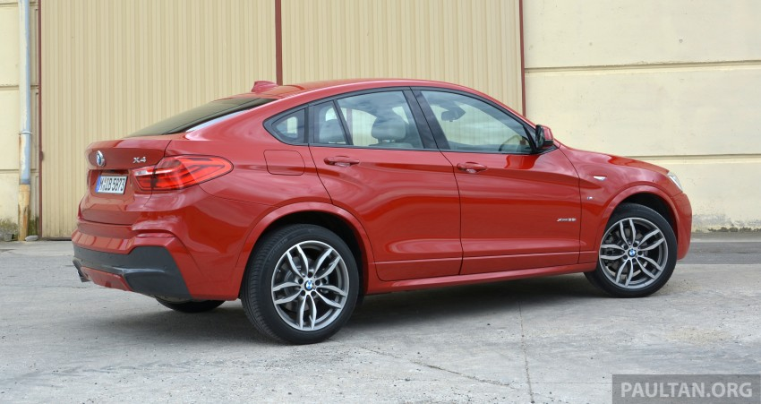 DRIVEN: F26 BMW X4 – the X3 redrawn as a 'coupe' Image #252153