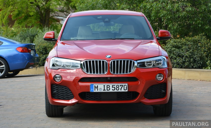 DRIVEN: F26 BMW X4 – the X3 redrawn as a 'coupe' Image #252149
