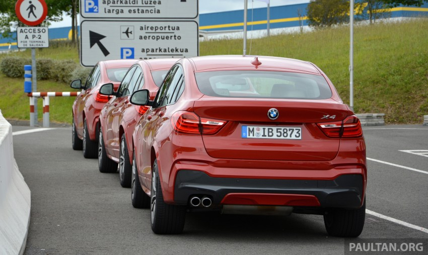 DRIVEN: F26 BMW X4 – the X3 redrawn as a 'coupe' Image #252148