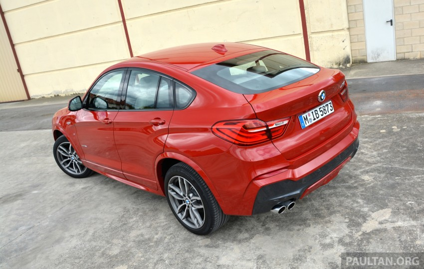 DRIVEN: F26 BMW X4 – the X3 redrawn as a 'coupe' Image #252141