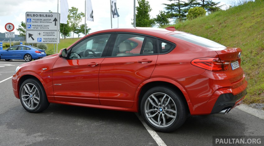 DRIVEN: F26 BMW X4 – the X3 redrawn as a 'coupe' Image #252139