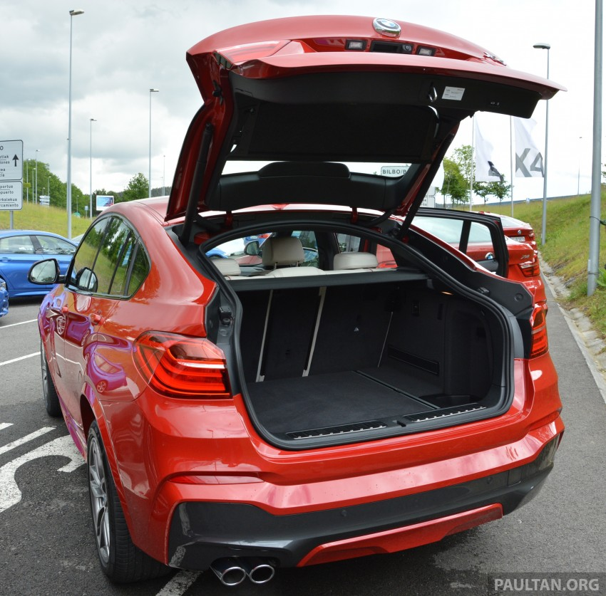 DRIVEN: F26 BMW X4 – the X3 redrawn as a 'coupe' Image #252136