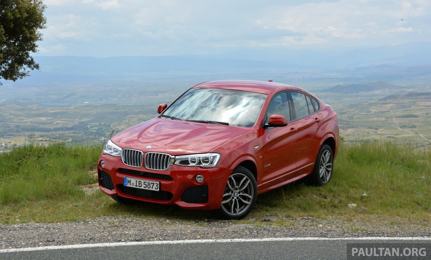DRIVEN: F26 BMW X4 – the X3 redrawn as a 'coupe' Image #252135