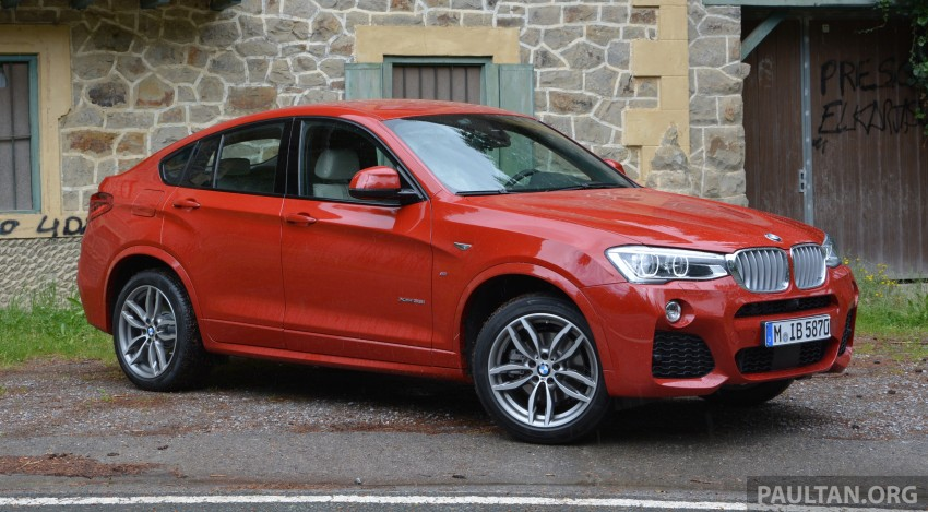 DRIVEN: F26 BMW X4 – the X3 redrawn as a 'coupe' Image #252133