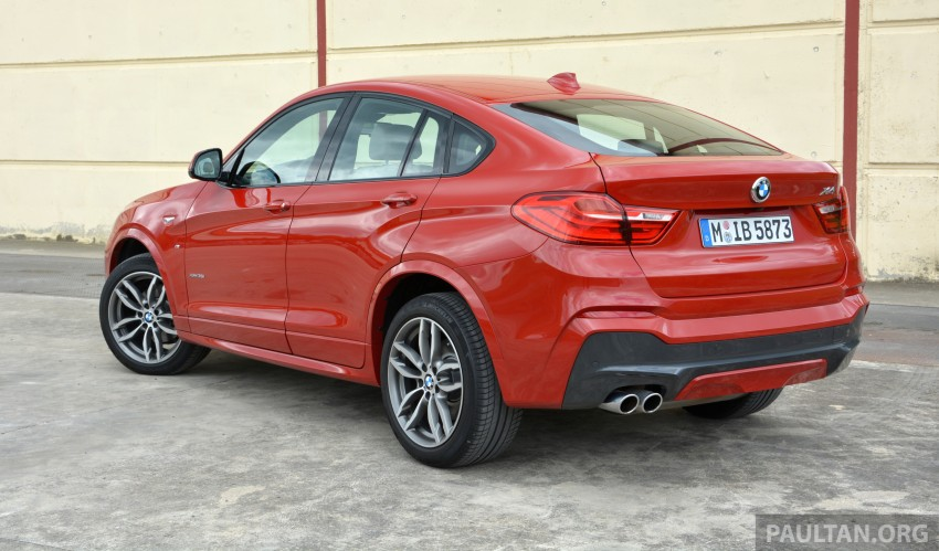 DRIVEN: F26 BMW X4 – the X3 redrawn as a 'coupe' Image #252131