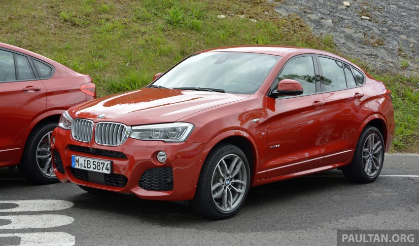 DRIVEN: F26 BMW X4 – the X3 redrawn as a 'coupe' Image #252130