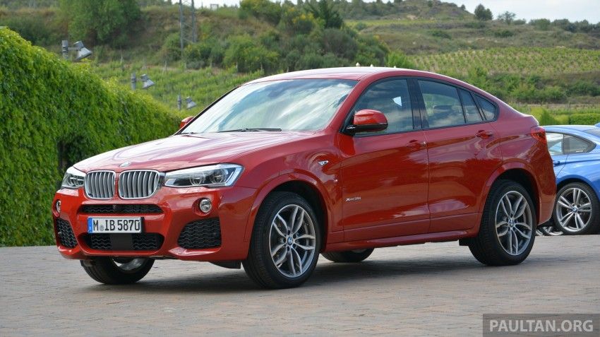 DRIVEN: F26 BMW X4 – the X3 redrawn as a 'coupe' Image #252128