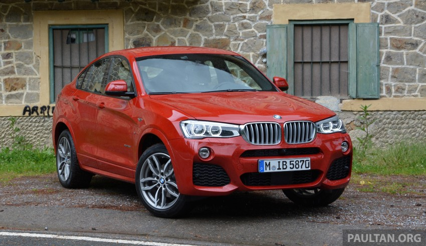 DRIVEN: F26 BMW X4 – the X3 redrawn as a 'coupe' Image #252126