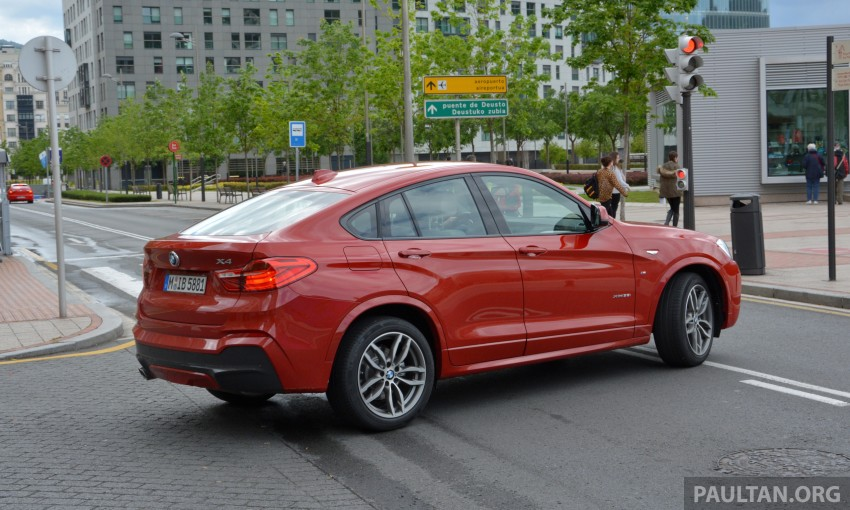 DRIVEN: F26 BMW X4 – the X3 redrawn as a 'coupe' Image #252119