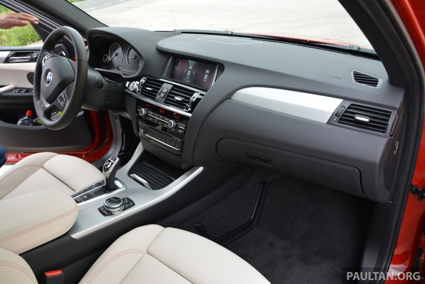 DRIVEN: F26 BMW X4 – the X3 redrawn as a 'coupe' Image #252118