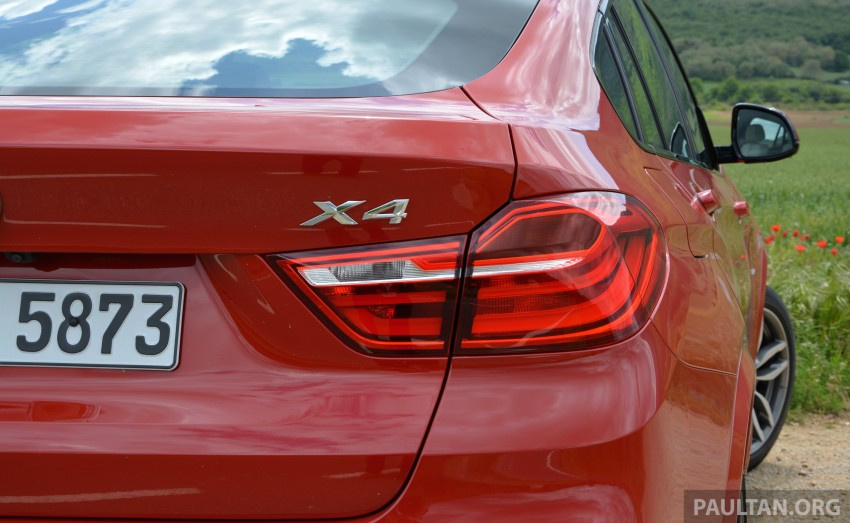 DRIVEN: F26 BMW X4 – the X3 redrawn as a 'coupe' Image #252117