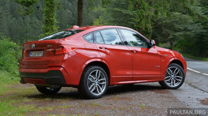 DRIVEN: F26 BMW X4 – the X3 redrawn as a 'coupe' Image #252114
