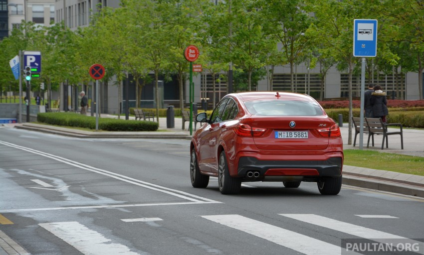 DRIVEN: F26 BMW X4 – the X3 redrawn as a 'coupe' Image #252113