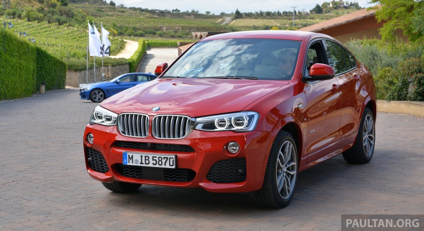 DRIVEN: F26 BMW X4 – the X3 redrawn as a 'coupe' Image #252111