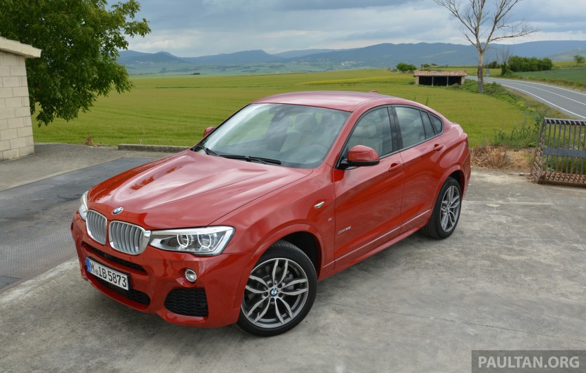 DRIVEN: F26 BMW X4 – the X3 redrawn as a 'coupe' Image #252109