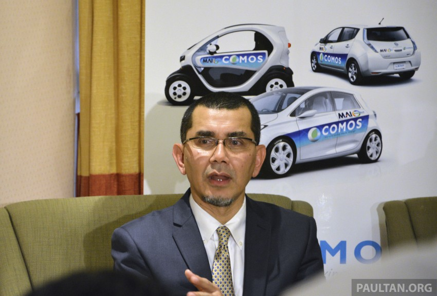 COMOS EV car-sharing programme to launch in August – rent a Twizy, Zoe or Leaf in KL, by the hour Image #246331