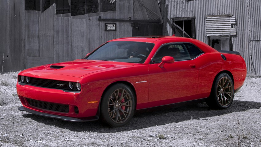 Dodge Challenger SRT – new 6.2 V8 mill with 707 hp Image #248560