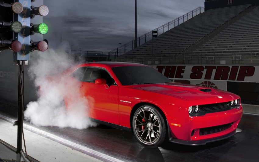 Dodge Challenger SRT – new 6.2 V8 mill with 707 hp Image #248564