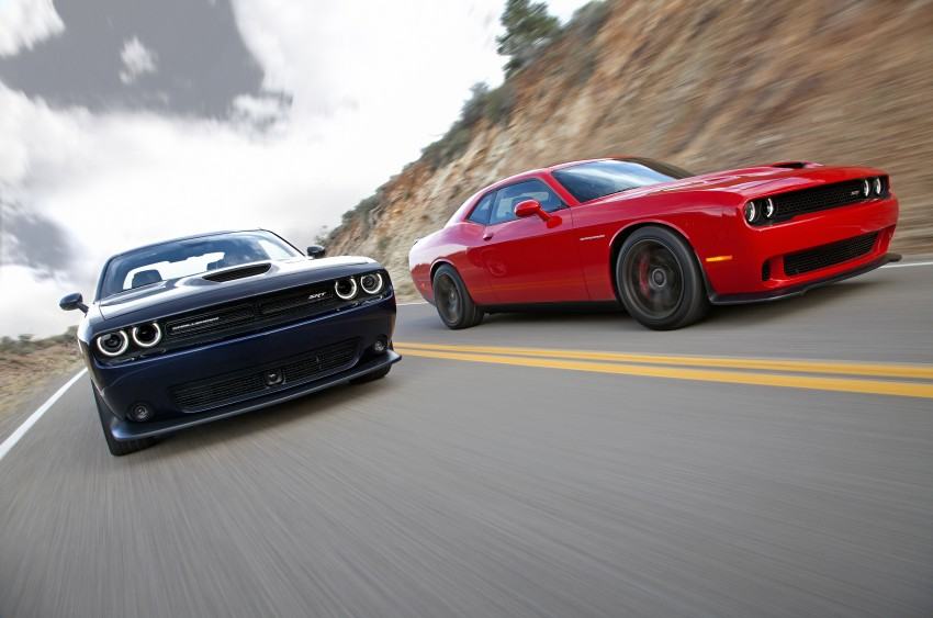 Dodge Challenger SRT – new 6.2 V8 mill with 707 hp Image #248578