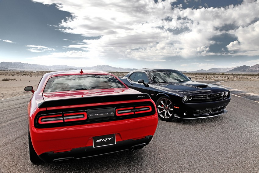 Dodge Challenger SRT – new 6.2 V8 mill with 707 hp Image #248580