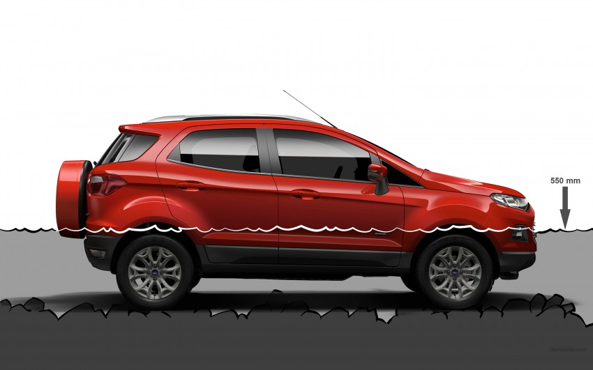 DRIVEN: Ford EcoSport 1.5 in Hua Hin, Thailand Image #245588