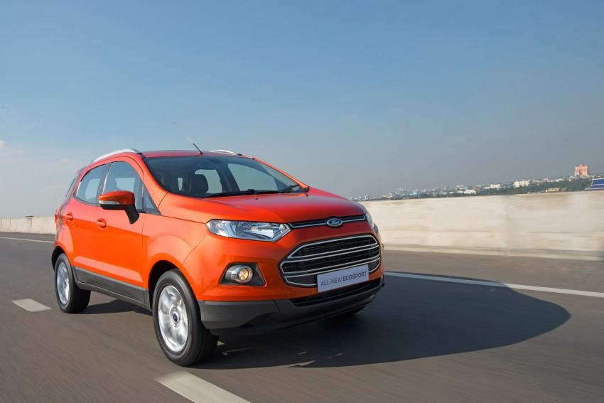 DRIVEN: Ford EcoSport 1.5 in Hua Hin, Thailand Image #245589