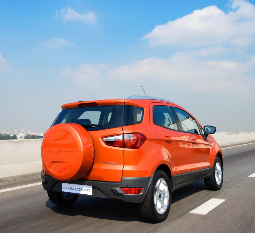 DRIVEN: Ford EcoSport 1.5 in Hua Hin, Thailand Image #245590