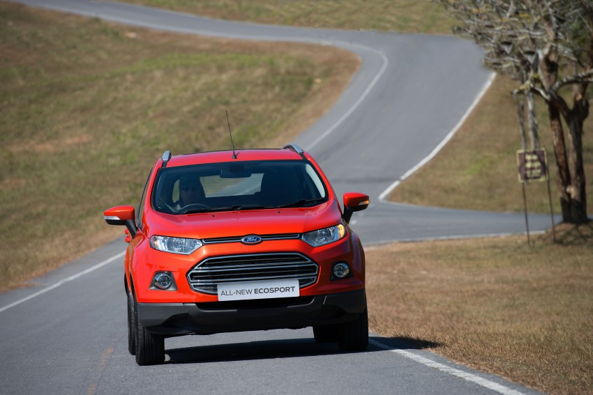 DRIVEN: Ford EcoSport 1.5 in Hua Hin, Thailand Image #245592