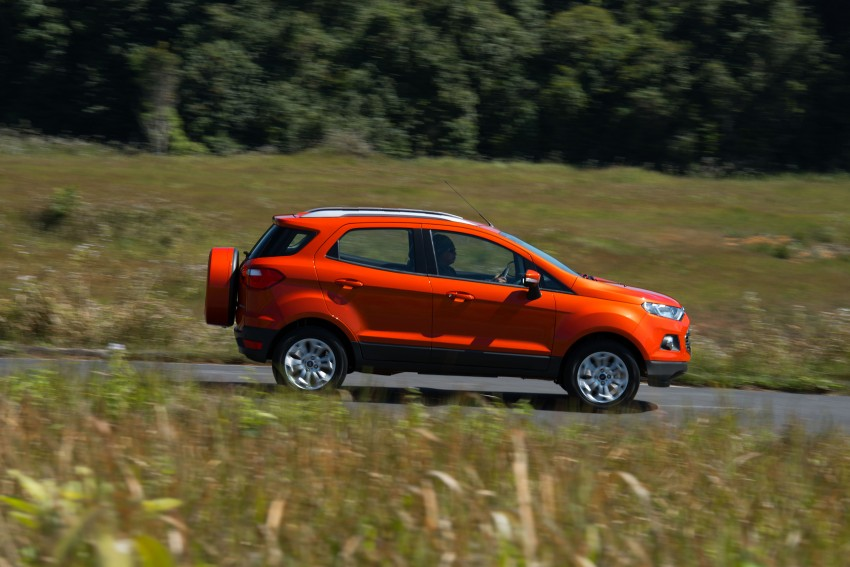 DRIVEN: Ford EcoSport 1.5 in Hua Hin, Thailand Image #245593