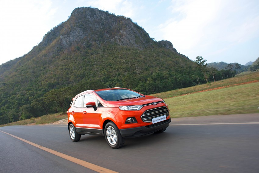 DRIVEN: Ford EcoSport 1.5 in Hua Hin, Thailand Image #245594