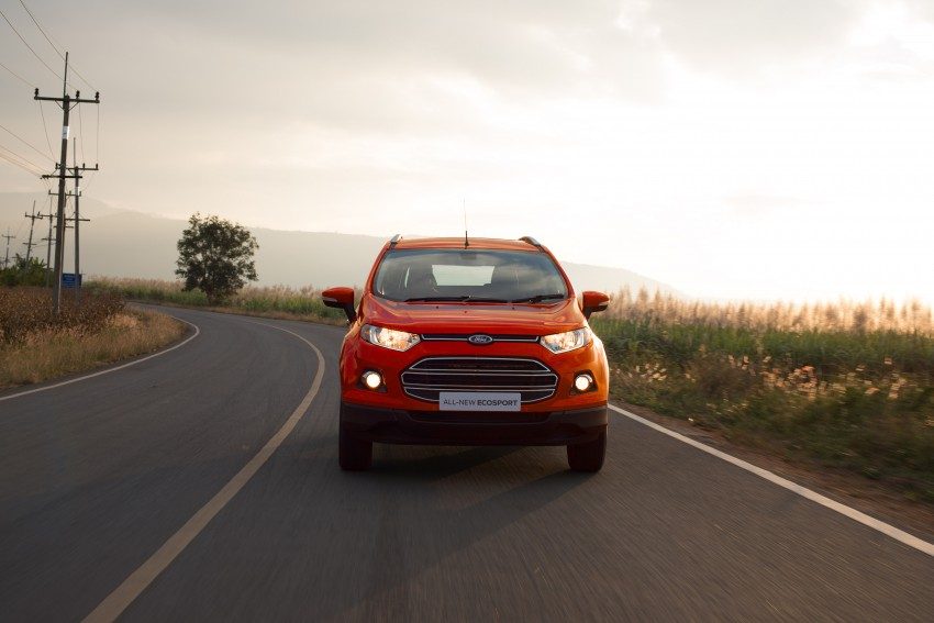 DRIVEN: Ford EcoSport 1.5 in Hua Hin, Thailand Image #245595