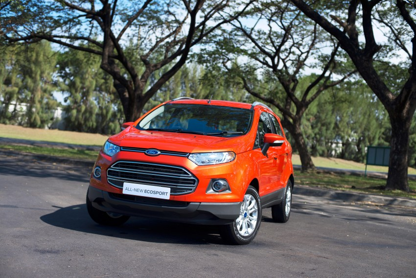 DRIVEN: Ford EcoSport 1.5 in Hua Hin, Thailand Image #245599