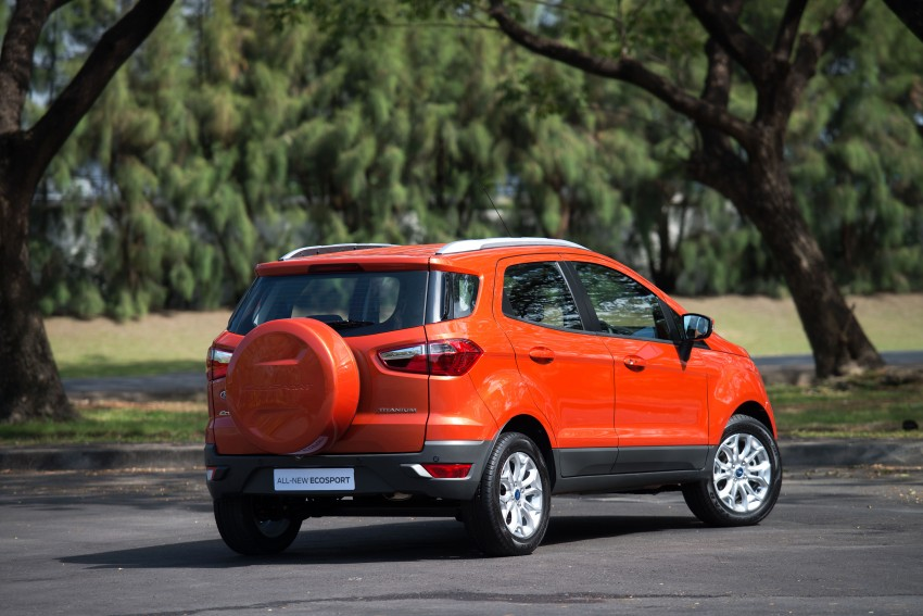 DRIVEN: Ford EcoSport 1.5 in Hua Hin, Thailand Image #245600