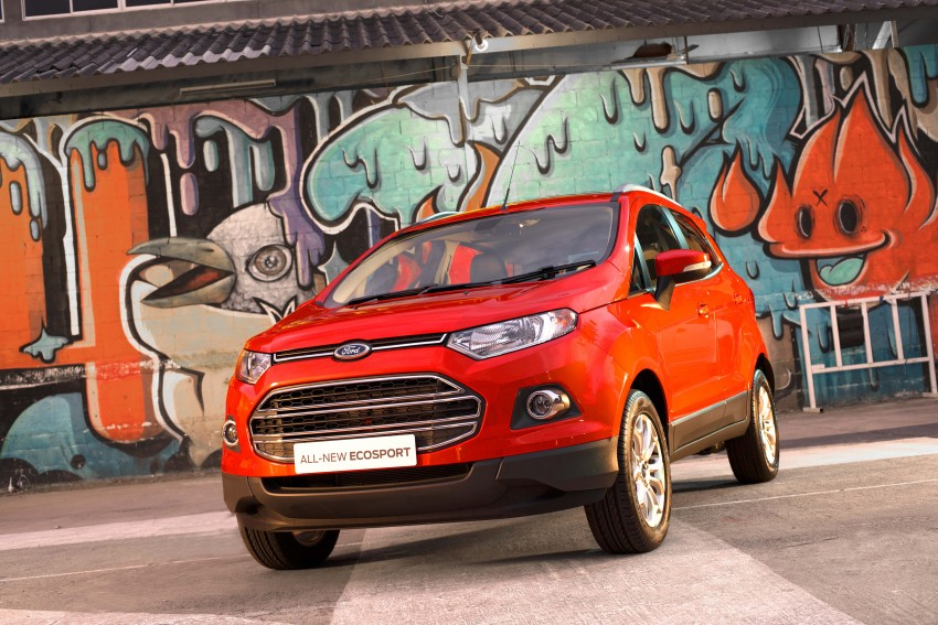 DRIVEN: Ford EcoSport 1.5 in Hua Hin, Thailand Image #245601