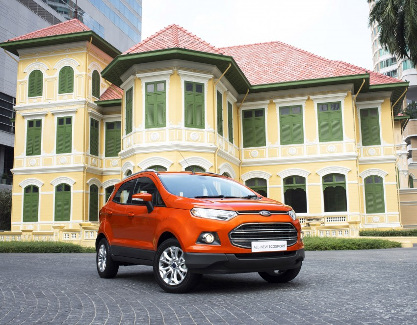 DRIVEN: Ford EcoSport 1.5 in Hua Hin, Thailand Image #245603