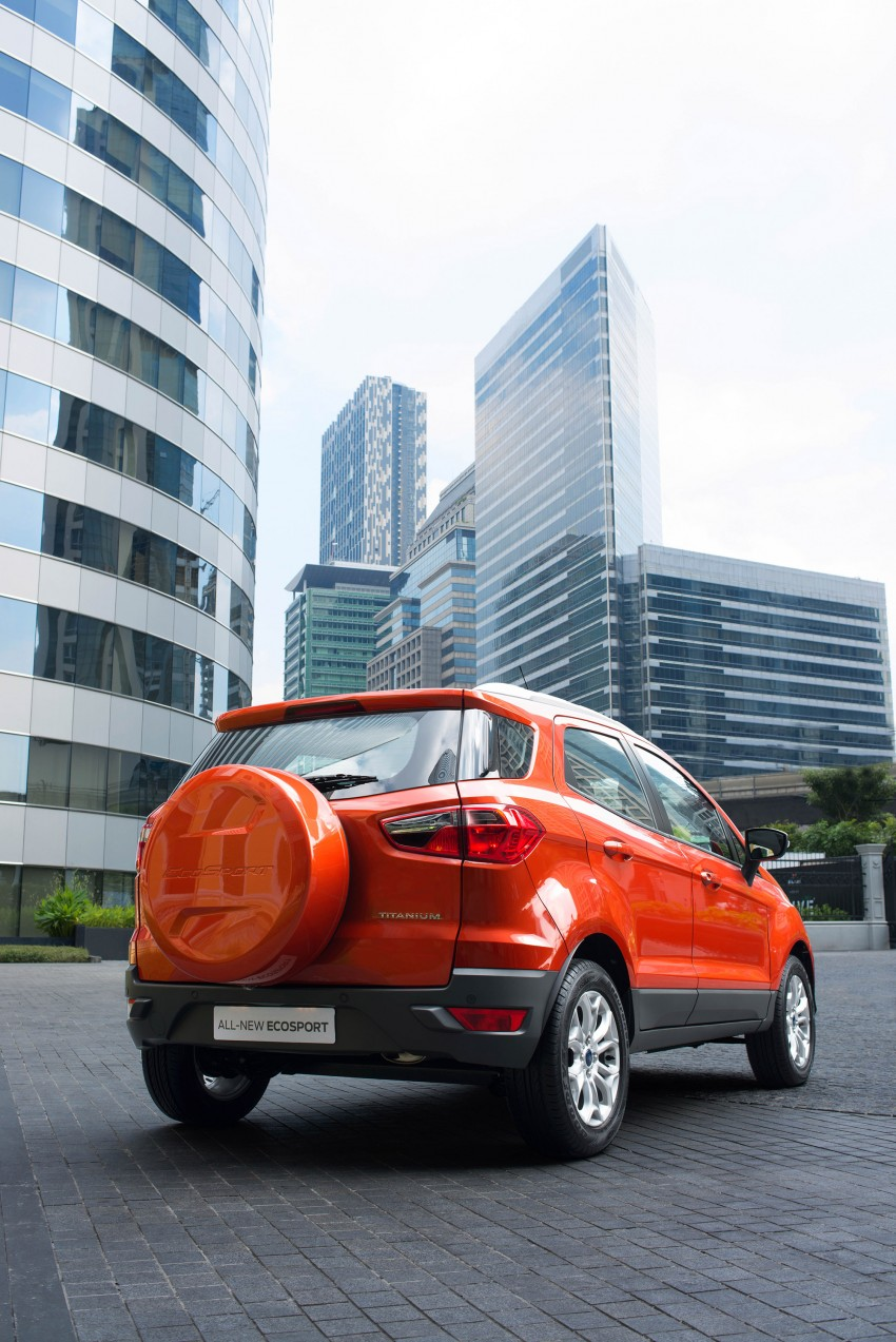 DRIVEN: Ford EcoSport 1.5 in Hua Hin, Thailand Image #245607