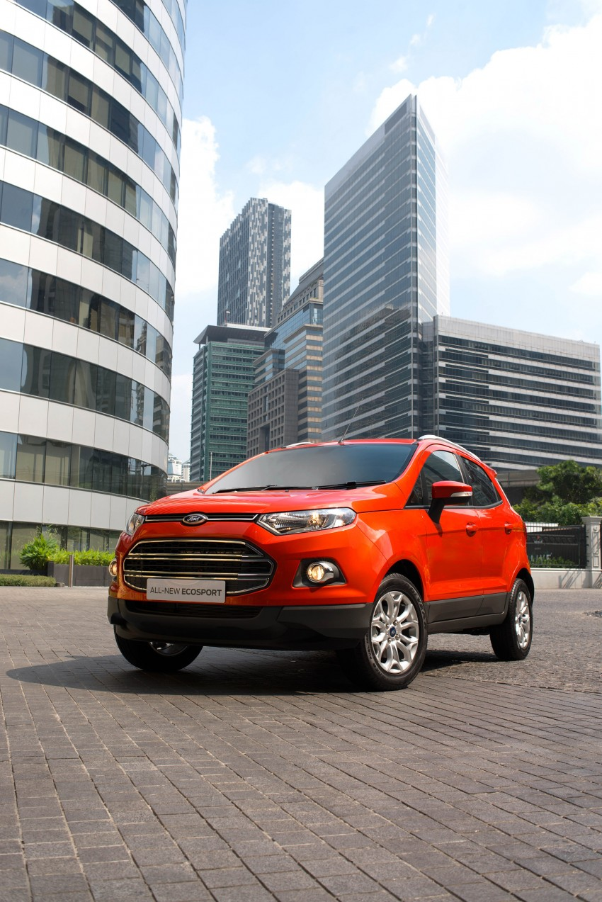DRIVEN: Ford EcoSport 1.5 in Hua Hin, Thailand Image #245608