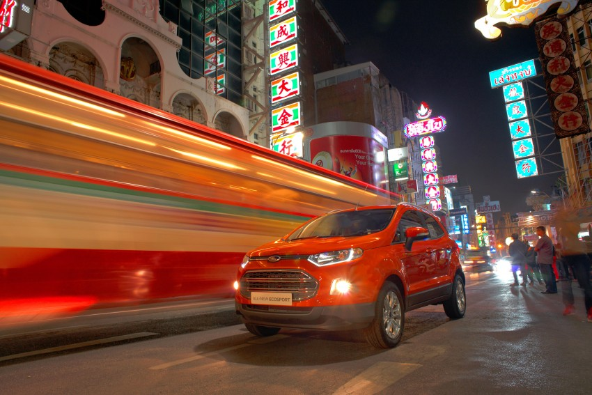 DRIVEN: Ford EcoSport 1.5 in Hua Hin, Thailand Image #245609